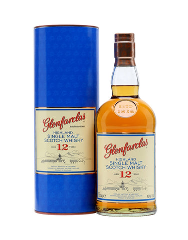 Single Malt Whiskey Glenfarclas 12 Year Old In Calgary, Alberta, Canada