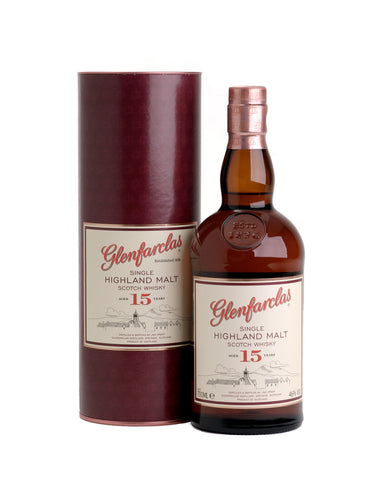 Single Malt Whiskey Glenfarclas 15 Year Old In Calgary, Alberta, Canada