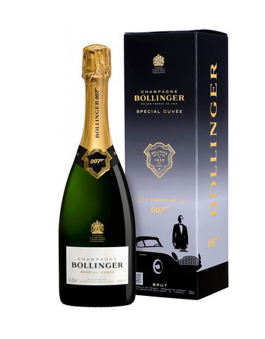 James Bond 007 Bollinger Special Cuvee - Limited Edition