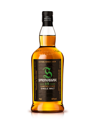 Single Malt Whiskey Springbank 15 Year Old In Calgary, Alberta, Canada