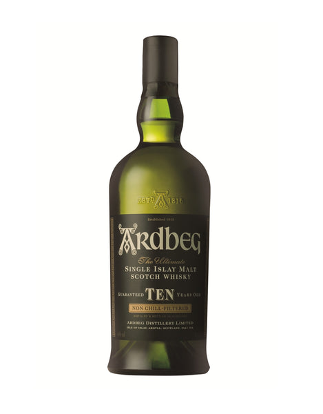 Single Malt Whiskey Ardbeg 10 Year Old In Calgary, Alberta, Canada