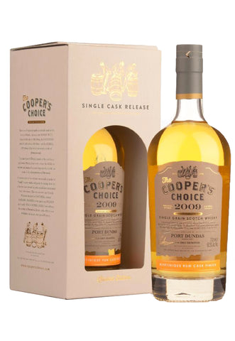 Coopers Choice Port Dundas Rum Cask 10 Year Old