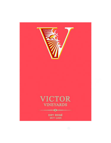Victor Vineyards Rose Sangiovese 2017