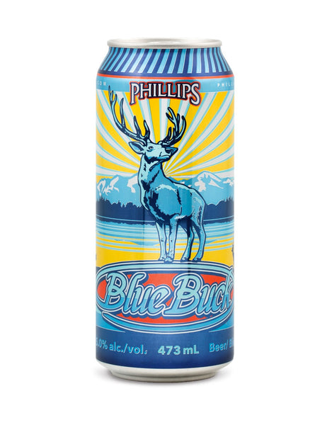 Phillips Blue Buck 473 ml - 4 Cans