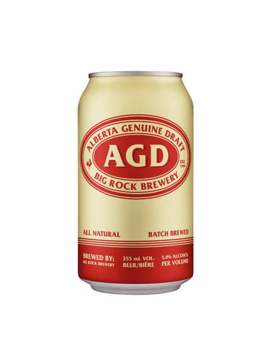 Alberta Genuine Draft - 15 Cans