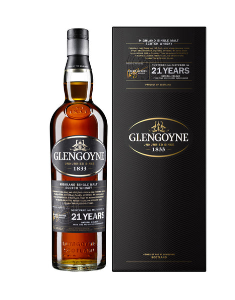 Single Malt Whiskey Glengoyne 21 Year Old In Calgary, Alberta, Canada