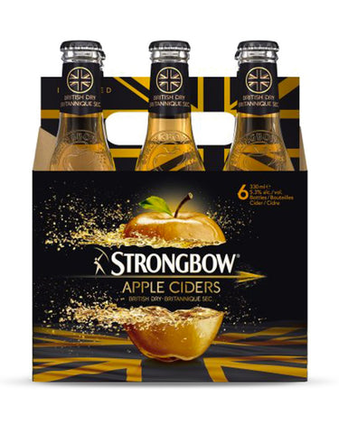 Strongbow Cider 330 ml - 6 Btls