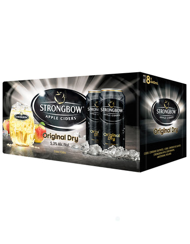 Strongbow Cider 440 ml - 8 Cans