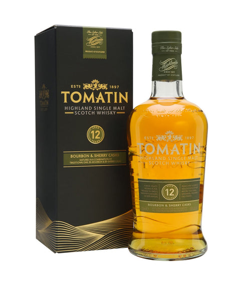 "Tomatin 12 Year Old ""Bourbon & Sherry Casks"""