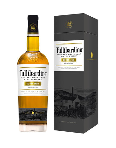Single Malt Whiskey Tullibardine Sovereign In Calgary, Alberta, Canada