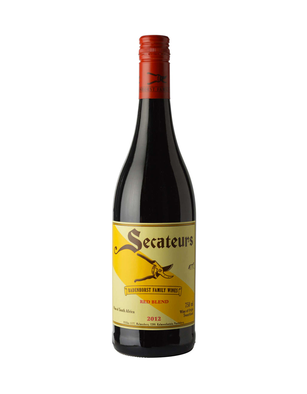 Badenhorst Secateurs Red Blend 2013