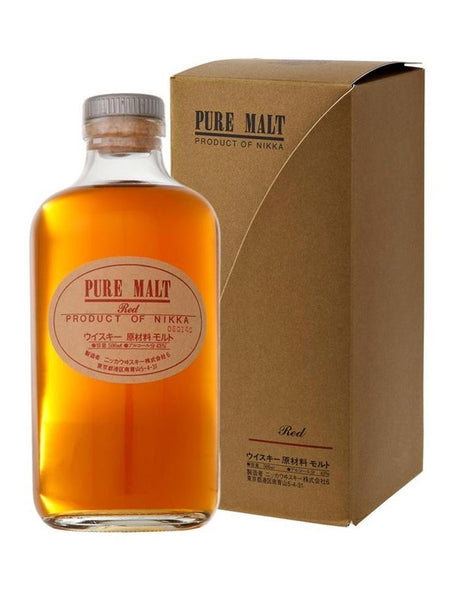 Japanese whisky Nikka Pure Malt Red in Calgary, Alberta, Canada