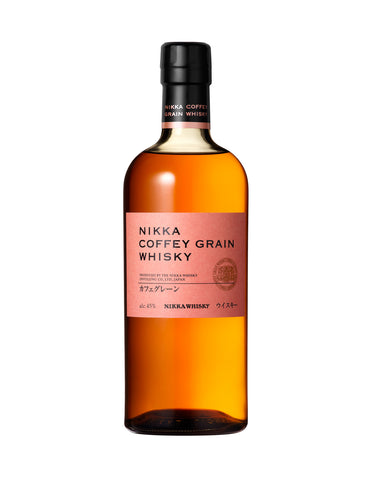 Japanese whisky Nikka Coffey Grain in Calgary, Alberta, Canada