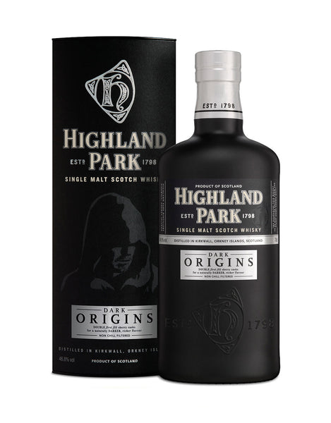 Single Malt Whiskey Highland Park Dark Origins In Calgary, Alberta, Canada