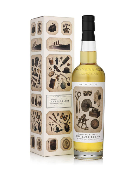 Whisky Compass Box Lost Blend in Calgary, Alberta,Canada