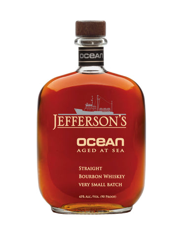 American Whiskey Jefferson's Ocean Aged in Calgary, Alberta, Canada