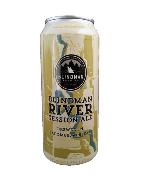 Blindman River Session Ale 473 ml - 4 Cans