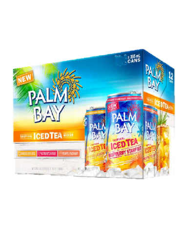 Palm Bay Ice Tea Variety Pack - 24 Cans