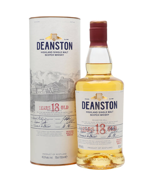 Deanston 18 Year Old Bourbon Cask Finish
