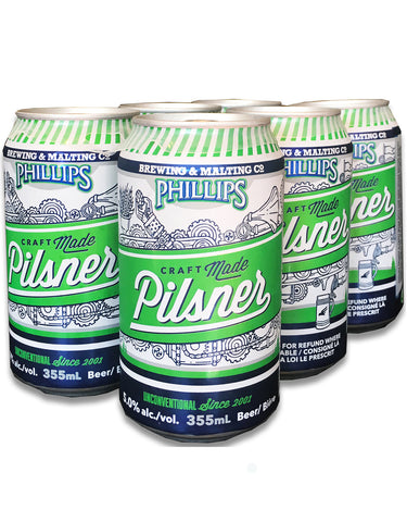 Phillips Pilsner - 6 Cans