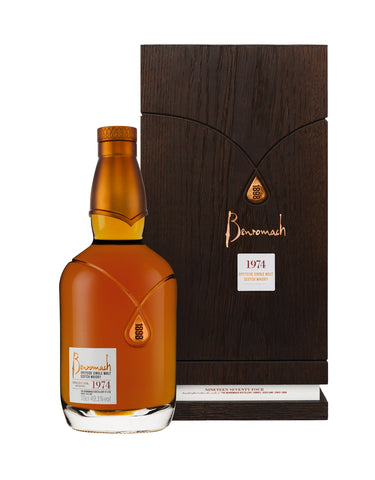 Single Malt Whiskey Benromach 1974 - 41 Year Old Scotch Whisky In Calgary, Alberta, Canada