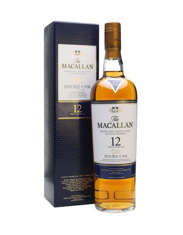 Single Malt Whiskey The Macallan 12 Year Old Double Cask In Calgary, Alberta, Canada