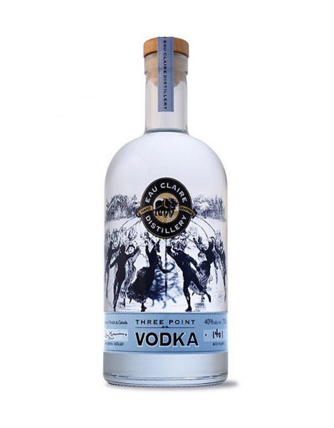 Eau Claire Three Point Vodka