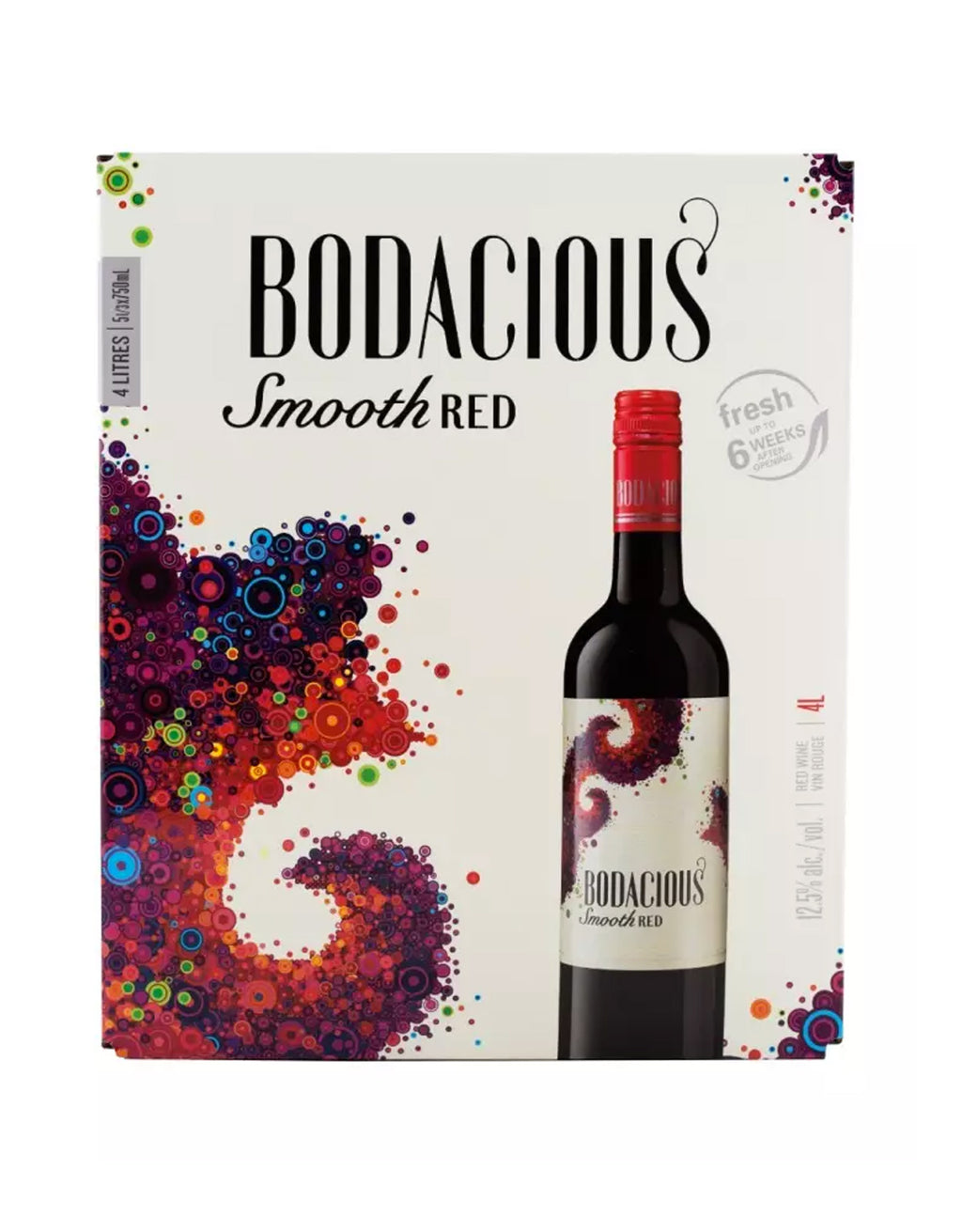 Bodacious Smooth Red - 4 Litre Box