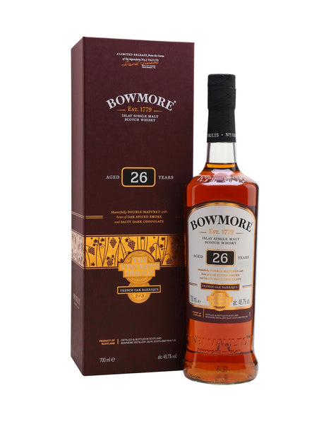 Bowmore 26 Year Old Wine Matured
