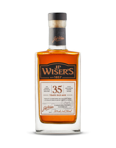 Blended Whisky Wiser's 35 Year Old in Calgary, Alberta, Canada