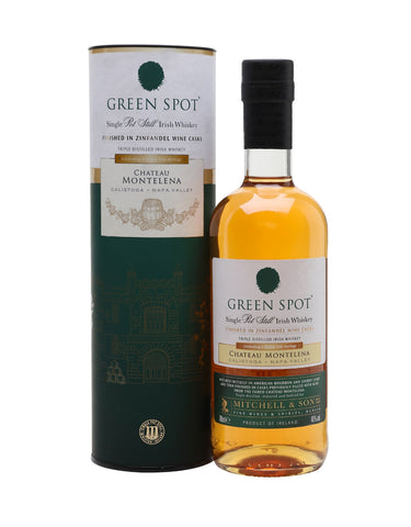 "Green Spot Single Malt Irish Whisky ""Chateau Montelena"""