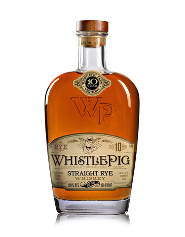 Whistle Pig Rye Whiskey Aged 10 Years