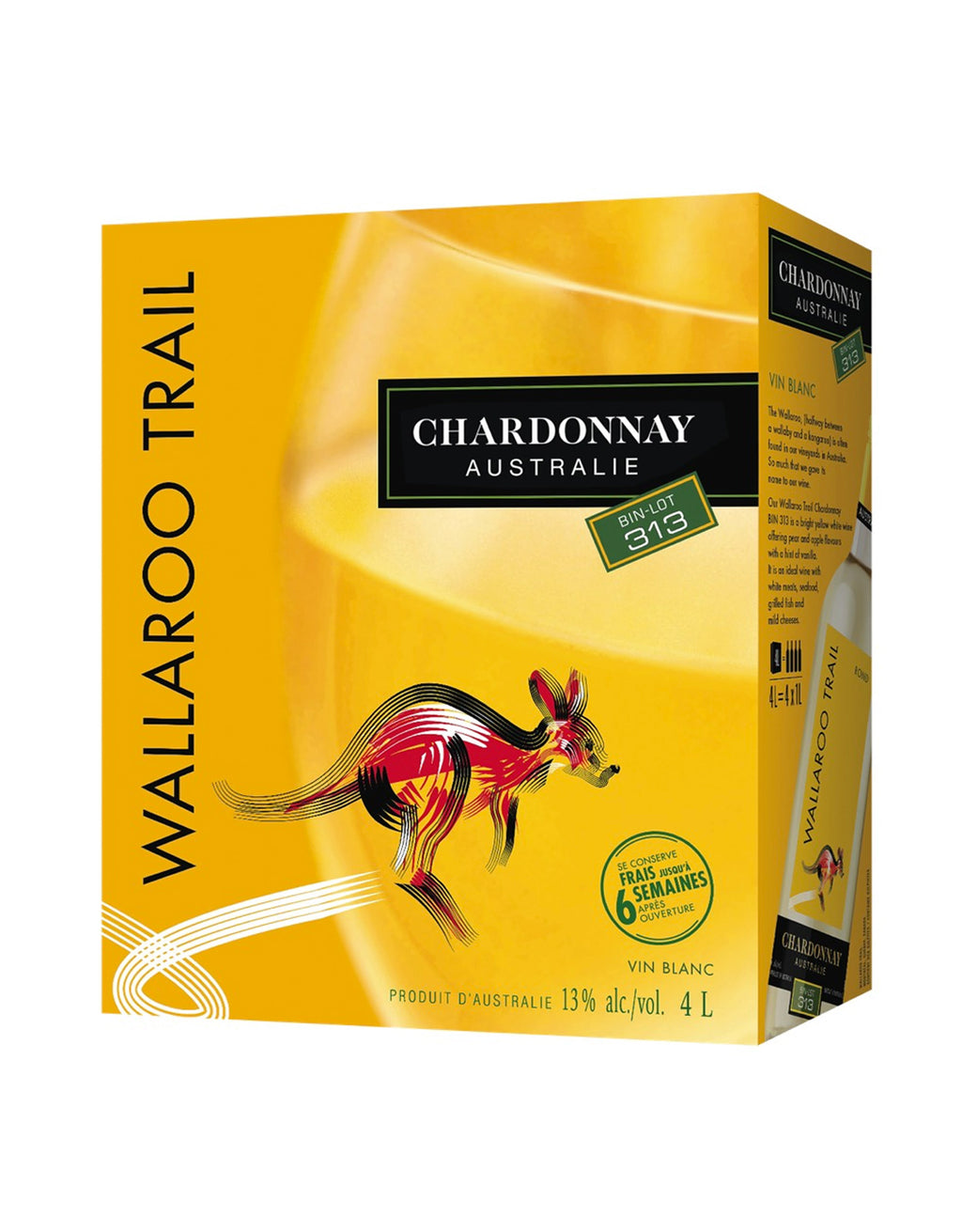 Wallaroo Trail Chardonnay - 4 Litre Box