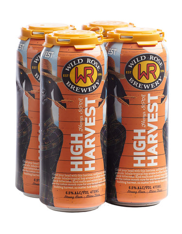 Wild Rose High Harvest 473 ml - 4 Cans