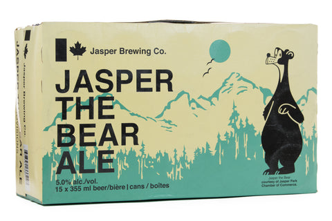 Jasper The Bear Ale - 15 Cans