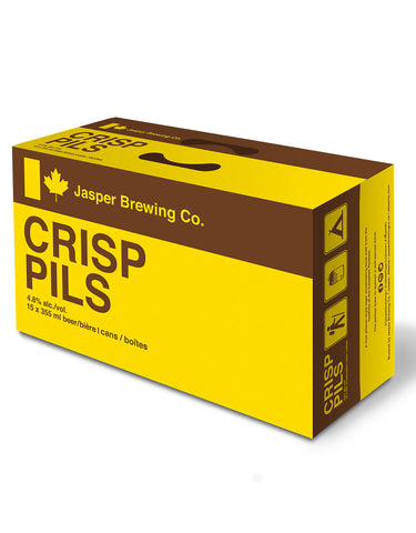 Jasper Brewing Crisp Pils 355 ml - 15 Cans