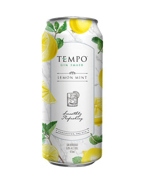 Tempo Gin Smash Lemon Mint