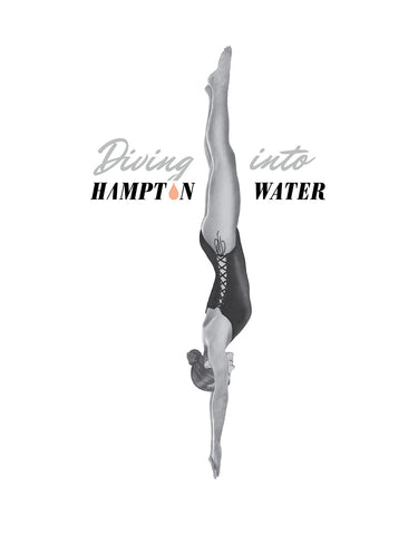 Diving Into Hampton Water Rose
