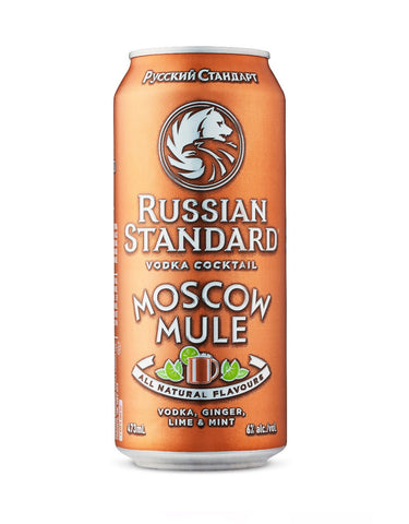 Russian Standard Moscow Mule 473 ml - Single Cans