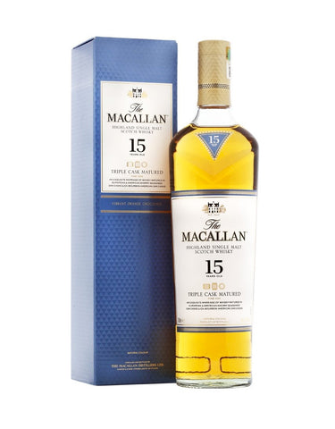 The Macallan 15 Year Old Triple Cask