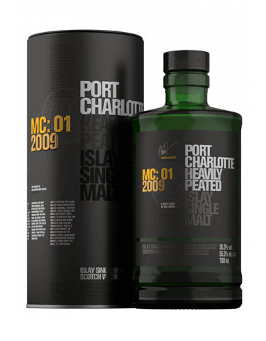 Bruichladdich Port Charlotte Heavily Peated MC: 01 2009