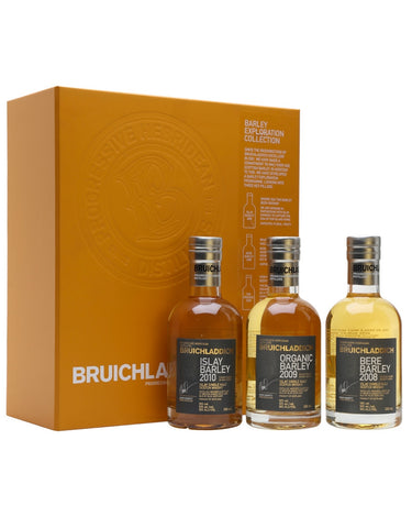 Bruichladdich The Barley Exploration Collection - 3 Btls