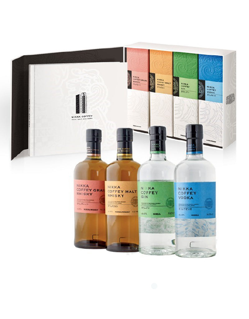 Nikka Coffey Series Set - 4 Btls