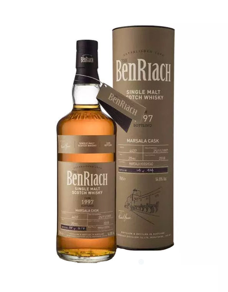 Benriach Batch 15 1997 #4437 Marsala Cask
