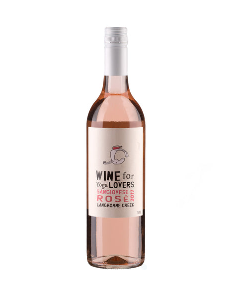 Wine for Yoga Lovers Sangiovese Rose