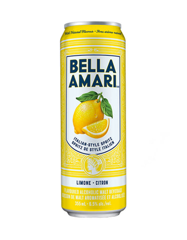 Bella Amari Lemon Spritz 355 ml - 4 Cans