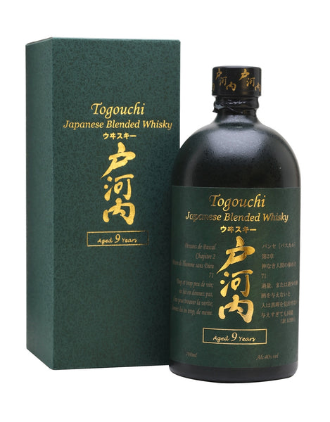 Togouchi 9 Year Old Japanese Blended Whiskey