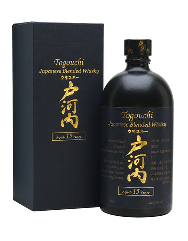 Blended Whisky Togouchi 15 Year Old Japanese Blended Whiskey in Calgary, Alberta, Canada