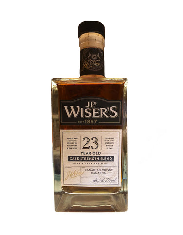 Wiser's 23 Year Old Cask Strength