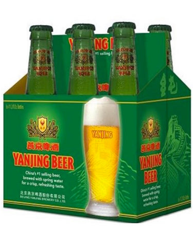 Yanjing Beer - 6 Bottles